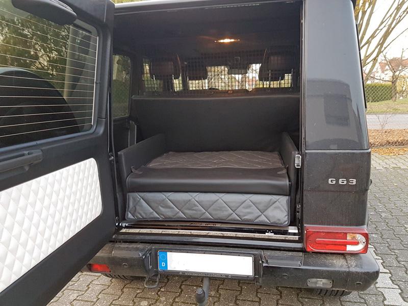 kofferraumausbau f r hunde mercedes benz g klasse. Black Bedroom Furniture Sets. Home Design Ideas