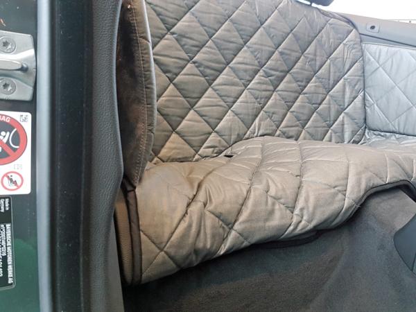 r ckbankausbau f r hunde 4er bmw. Black Bedroom Furniture Sets. Home Design Ideas