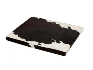 Hundebett Kuhfell schwarzweiss