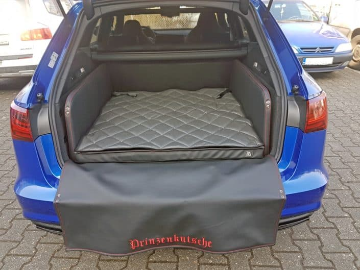 Kofferraum Hund Audi A6 Prinzenkutsche-2