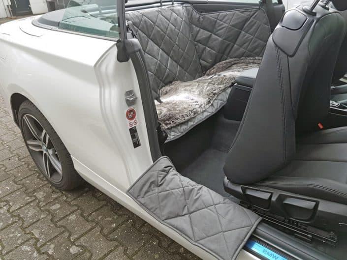 Rückbank Rücksitz Hund BMW 2er Cabrio