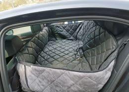 Hundetransport Rückbank Rücksitz Hund BMW 7er