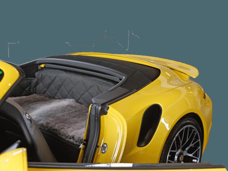 Rückbankausbau Porsche 911