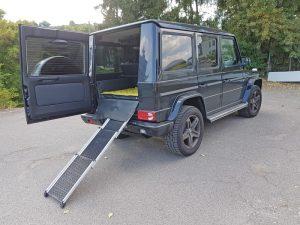 Rampe Hund Mercedes Benz G-Klasse