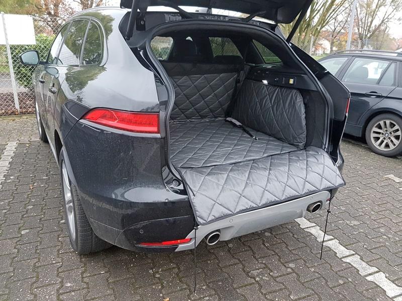 Hundetransport Kofferraum Schondecke Jaguar F-Pace Hund
