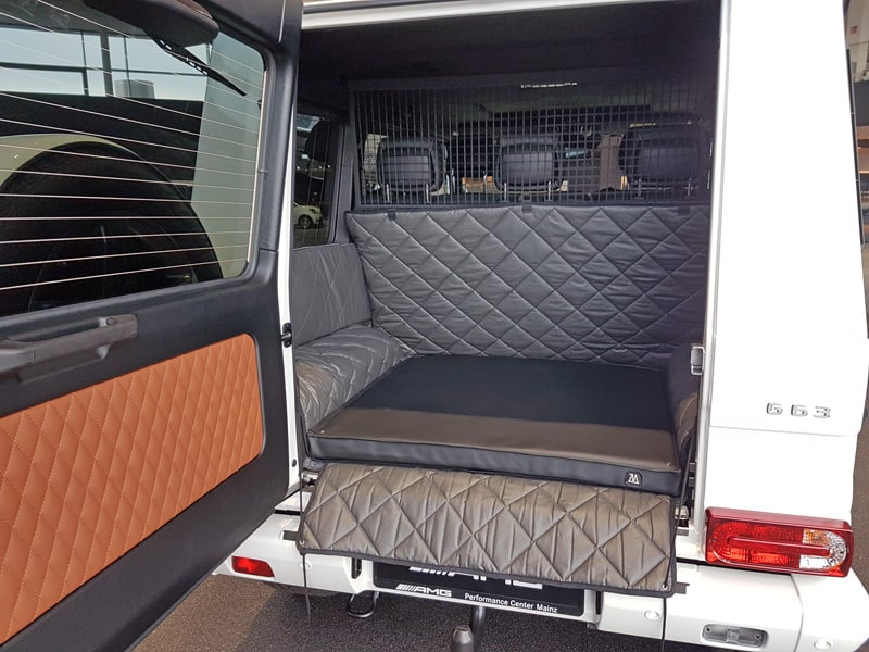 hundetransport kofferraum schondecke mercedes benz g. Black Bedroom Furniture Sets. Home Design Ideas