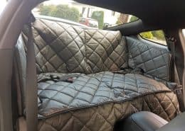 Hundetransport Rückbank Rücksitz Notsitz Hund Ford Mustang Coupe