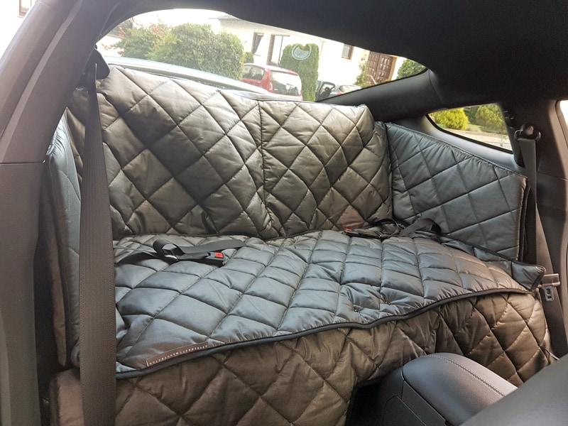hundetransport r ckbank r cksitz notsitz hund ford mustang. Black Bedroom Furniture Sets. Home Design Ideas