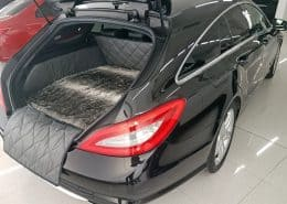 Hundetransport Kofferraum Schondecke Mercedes-Benz CLS Shooting Brake Hund