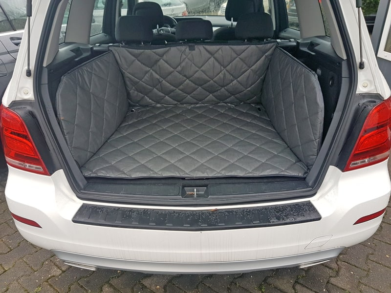 Hundetransport Kofferraum Schondecke Mercedes-Benz GLK Hund