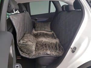 Schondecke Hundetransport Rückbank Mercedes Benz GLC Hund