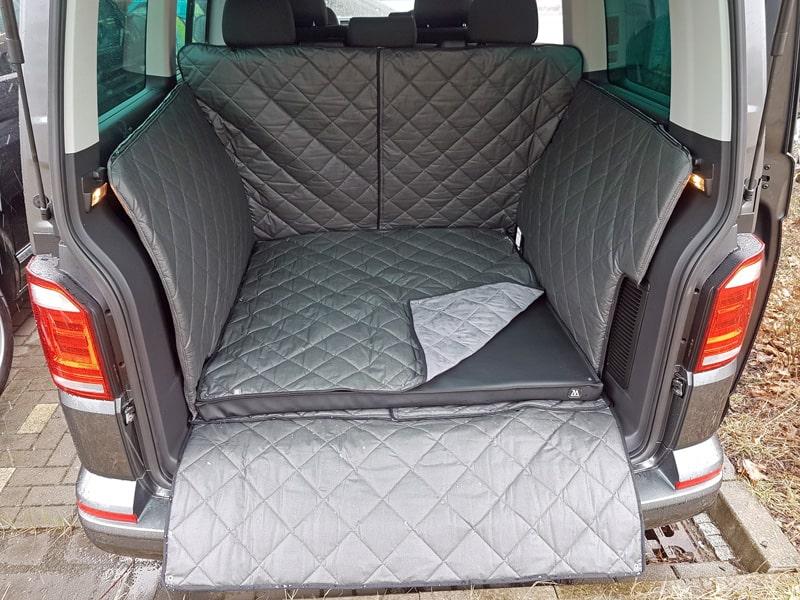 Hundetransport Kofferraum Schondecke VW T5 Hund