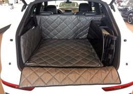 Hundetransport Kofferraum Schondecke Audi Q5 Rampe Hund