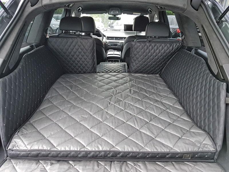 Hundetransport Kofferraum Schondecke DELUXE Audi Q7 Hund