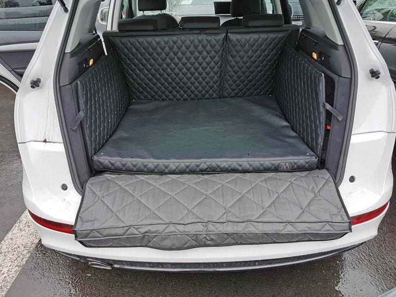Hundetransport Kofferraum Schondecke DELUXE Audi Q5 Hund