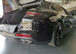 Hundetransport Kofferraum Schondecke DELUXE Porsche Panamera Sport Turismo Hund