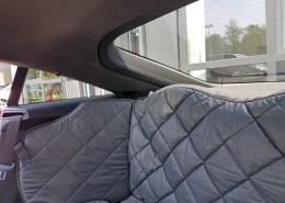 Hundetransport Rückbank Rücksitz Notsitz Hund Audi TT Coupé