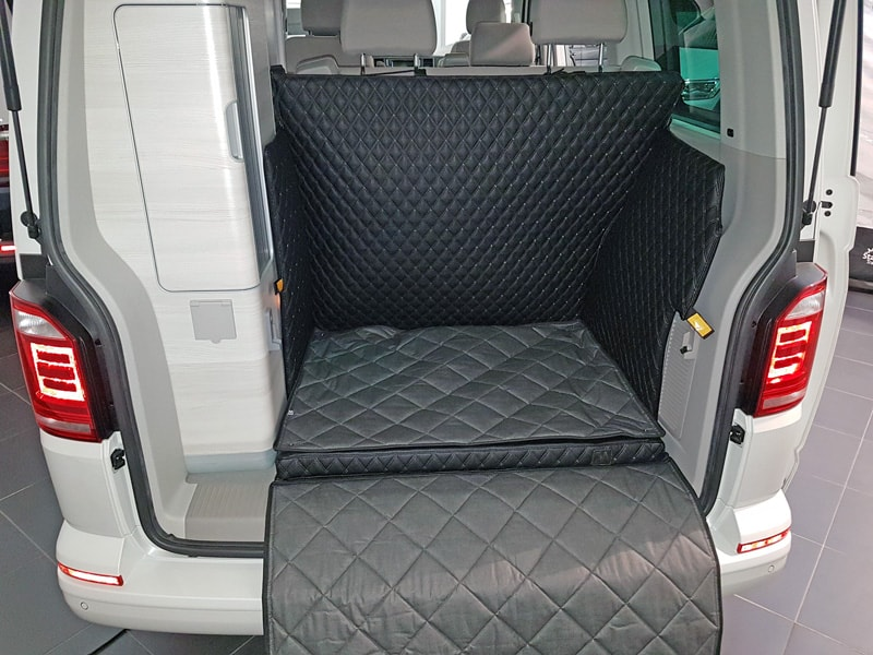 Hundetransport Kofferraum Schondecke DELUXE VW T6 California Hund