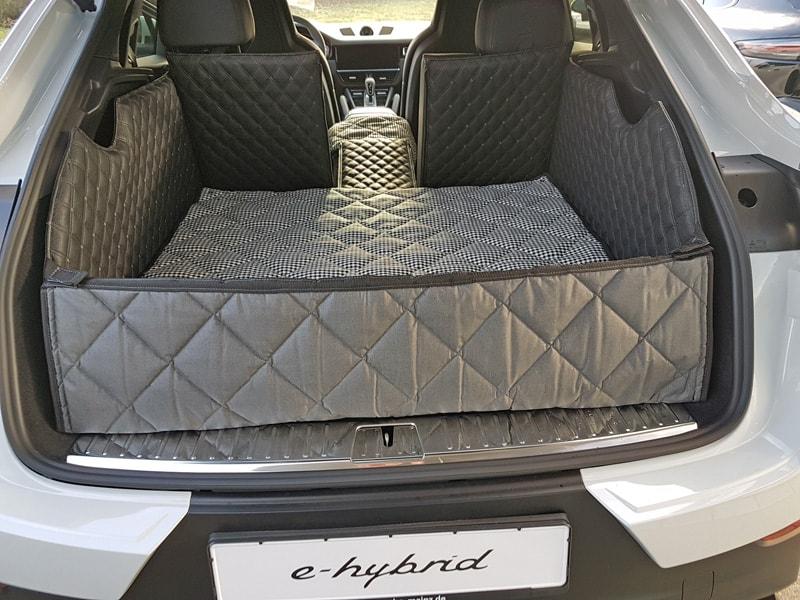Hundetransport Kofferraum Schondecke Deluxe Porsche Cayenne Coupe hybrid Hund