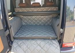 Hundetransport Kofferraum Schondecke Mercedes-Benz G-Klasse Hund neu