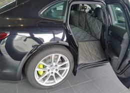 Hundetransport Schondecke Rückbank Rücksitz Hund Porsche Panamera